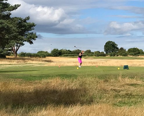 Ladies Open - 2nd tee