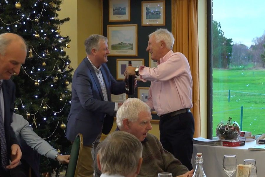 Seniors Christmas 11 Hole Competition and Lunch.